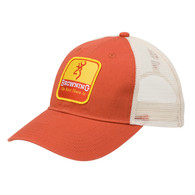 Browning Skimmer Cap-Mesh Back-Orange (308719621)