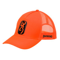 Browning Center Fire Cap-Blaze Orange (308055011)