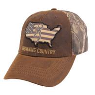 Browning Bozeman Atacs Mossy Oak Camo Country Dura-Wax Cap (308776281)