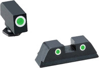 Ameriglo Classic Night Sight Set For Glock 17/19/19X/26/34/45 GEN 5 (GL-5113)