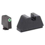 Ameriglo XXL Optics Height Night Sight Set For All Glock Except 42/43 (GL-481)
