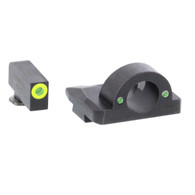 Ameriglo Ghost Ring Night Sight Set For Glock 17/19/19X/26/34/45 GEN 5 (GL-5325)