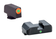 Ameriglo Pro I-Dot Tritium Night Sight Set For Glock High  (GL-203)
