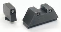 Ameriglo XL Optics Height Night Sight Set For All Glock Except 42/43 (GL-813)