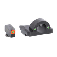 Ameriglo Ghost Ring Night Sight Set For Glock 17/19/19X/26/34/45 GEN 5 (GL-5225)