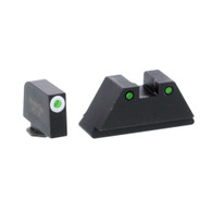 Ameriglo XL Optics Height Night Sight Set For All Glock Except 42/43 (GL-152)