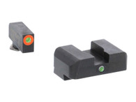 Ameriglo I-Dot Night Sight Set For Glock 17/19/19X/26/34/45 GEN 5 (GL-5201)