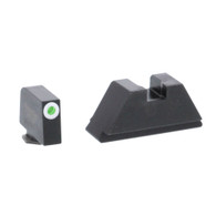 Ameriglo XL Optics Height Night Sight Set For All Glock Except 42/43 (GL-411)