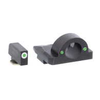 Ameriglo Ghost Ring Night Sight Set For Glock 17/19/19X/26/34/45 GEN 5 (GL-5125)
