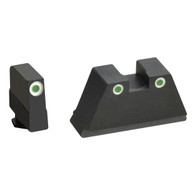 Ameriglo XXXL Optics Height Night Sight Set For All Glock Except 42/43 (GL-349)