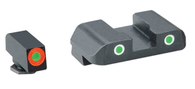 Ameriglo PRO-GLO Tritium Night Sight Set For Glock Low GEN 1-4 (GL-241)