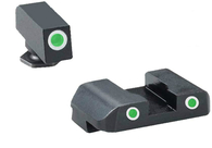 Ameriglo PRO Series Tritium Night Sight Set For Glock High GEN 1-4 (GL-233)