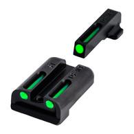TruGlo Tritium Fiber Optic Sight Set #6 Front/#8 Rear For Sig Sauer (TG131ST2)