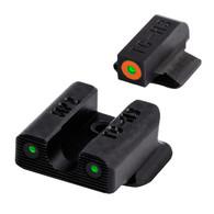 TruGlo Tritium PRO Sight Set For Smith & Wesson Bodyguard .380 (TG231MP2C)