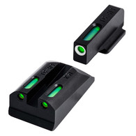 TruGlo TFX Tritium Fiber Optic Sight Set For Ruger SR9/SR40/SR45 (TG13RS1A)