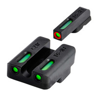 TruGlo TFX PRO Tritum Fiber Optic Sight Set For CZ P10 (TG13CZ2PC)
