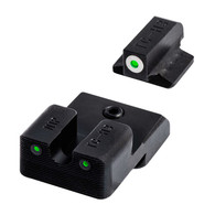 TruGlo Tritium PRO Novak .260/.450 Sight Set For Select 1911 Models (TG231N1W)
