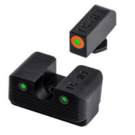 TruGlo Tritium PRO Sight Set For Glock 42/43-Orange Focus Ring (TG231G1AC)