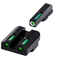 TruGlo TFX Tritium Fiber Optic Sight Set For CZ P10 (TG13CZ2A)