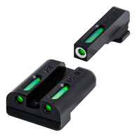 TruGlo Tritiium Fiber Optic Sight Set #8 Front/Rear For Sig Sauer (TG13SG1A)