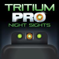 TruGlo Tritium PRO Sight Set For Smith & Wesson M&P 380 SHIELD EZ (TG231MP3C)
