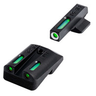 TruGlo TFX Novak LoMount .260/.500 Sight Set For Select 1911 Models (TG13NV3A)