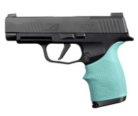 Hogue HANDALL Beavertail Grip Sleeve For Sig Sauer P365XL-Aqua (18714)