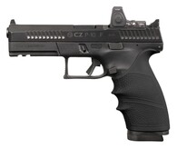 Hogue HANDALL Beavertail Grip Sleeve For CZ P-10 Full Size-Black (17800)