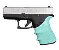 Hogue HANDALL Beavertail Grip Sleeve For Glock 43X/48-Aqua (18214)