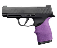 Hogue HANDALL Beavertail Grip Sleeve For Sig Sauer P365XL-Purple (18716)