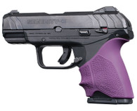 Hogue HANDALL Beavertail Grip Sleeve For Ruger Security-9 Compact-Purple (17716)