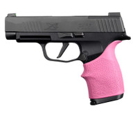 Hogue HANDALL Beavertail Grip Sleeve For Sig Sauer P365XL-Pink (18717)