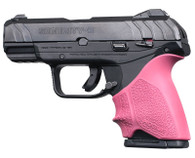 Hogue HANDALL Beavertail Grip Sleeve For Ruger Security-9 Compact-Pink (17717)