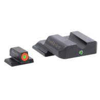 AmeriGlo S&W M&P i-Dot Tritium Night Sight Set-Orange Front Outline (SW-501)