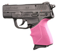 Hogue HANDALL Beavertail Grip Sleeve for Springfield XD-E-Pink (17317)