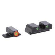 AmeriGlo Sig Sauer Tritium Night Sight Set-With Orange Front Outline (SG-741)