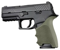 Hogue HANDALL Beavertail Grip Sleeve For Sig Sauer P320 Compact-ODG (17611)