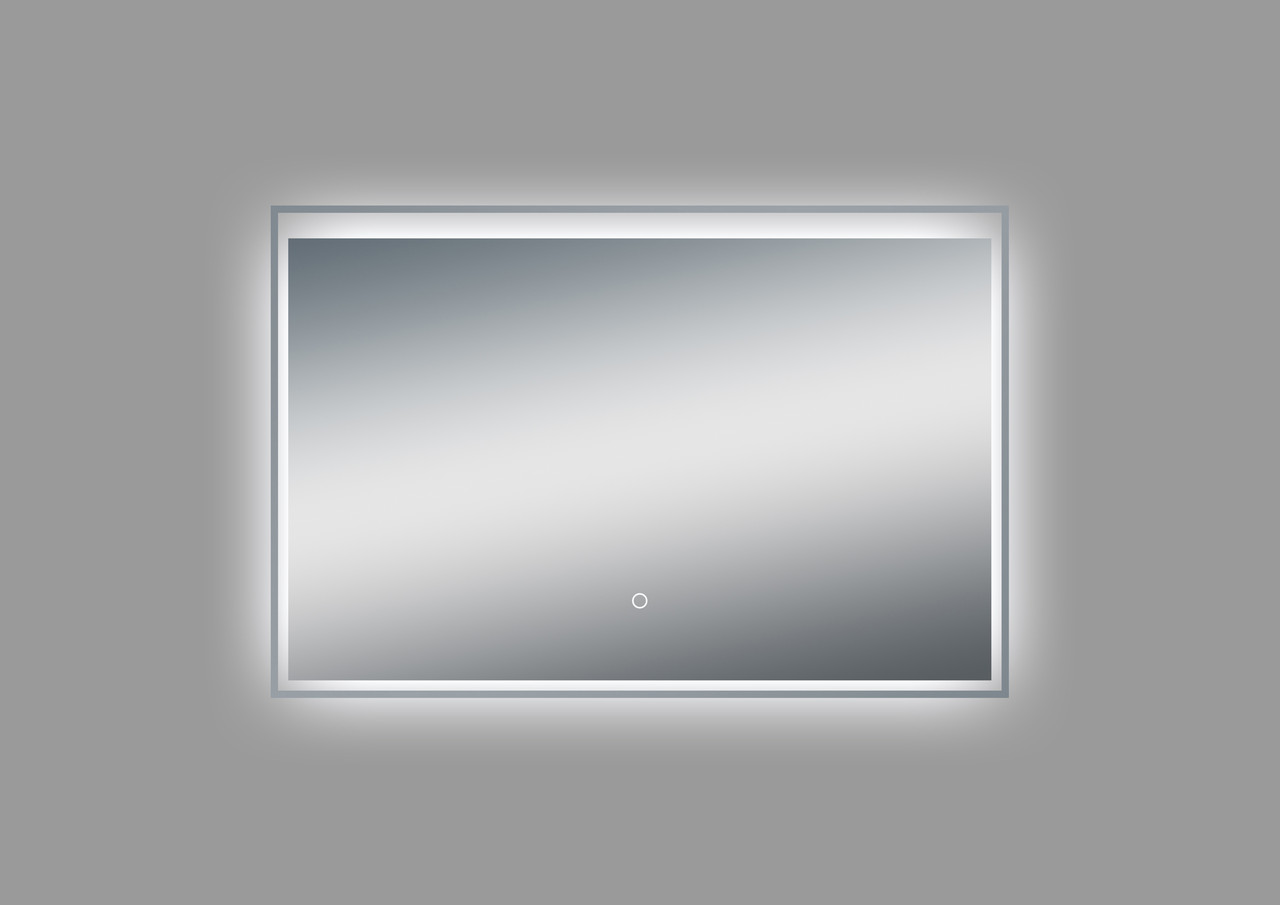 Moa103 36 Inch Wall Mounted Bathroom Mirror With Led Light Los
