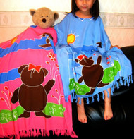 TEDDYBEAR Pink Girls Kaftan Dress Gift  9 10 11 12 13