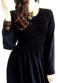 SEREN Black Sexy Long Maxi Dress 12 14 16 18 20 22  FS