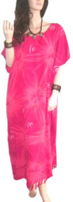SALE New STAR  Pink & Red Cool Kaftan Long Summer Dress Galaxy Space Cyber  Sexy