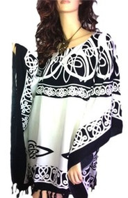 ROMAN Top Tunic Poncho Celtic Shirt Beach Celtic Welsh Irish Dress Blouse Sports