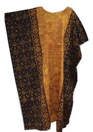 FIJI 100% Cotton Traditional Batik Long Kaftan Dress - Freesize