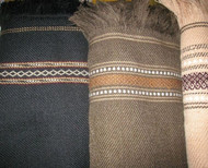 Afghan Thick Wool Patoo Winter Blanket Wrap -  Unisex