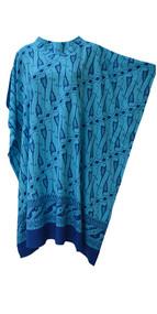 MALACCA Poncho Batik Tunic Plus Hippie Buttersoft Kaftan Top Beach Cover Up Ladies T shirt