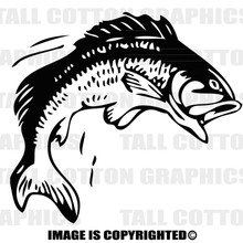 bass black vinyl decal
