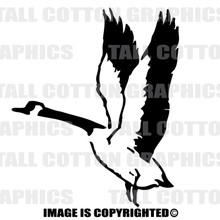 canadian goose black vinyl decal