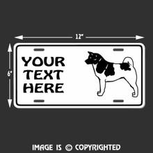 akita license plate