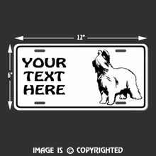 briard license plate