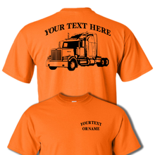 WESTERN STAR 4900 SEMI TRUCK - BIG RIG -18 Wheeler PERSONALIZED CUSTOM COTTON T-SHIRT #BR007